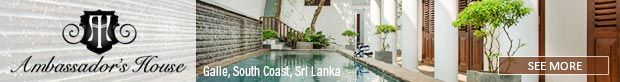 Ambassador's House – Galle 5 bedroom luxury villa